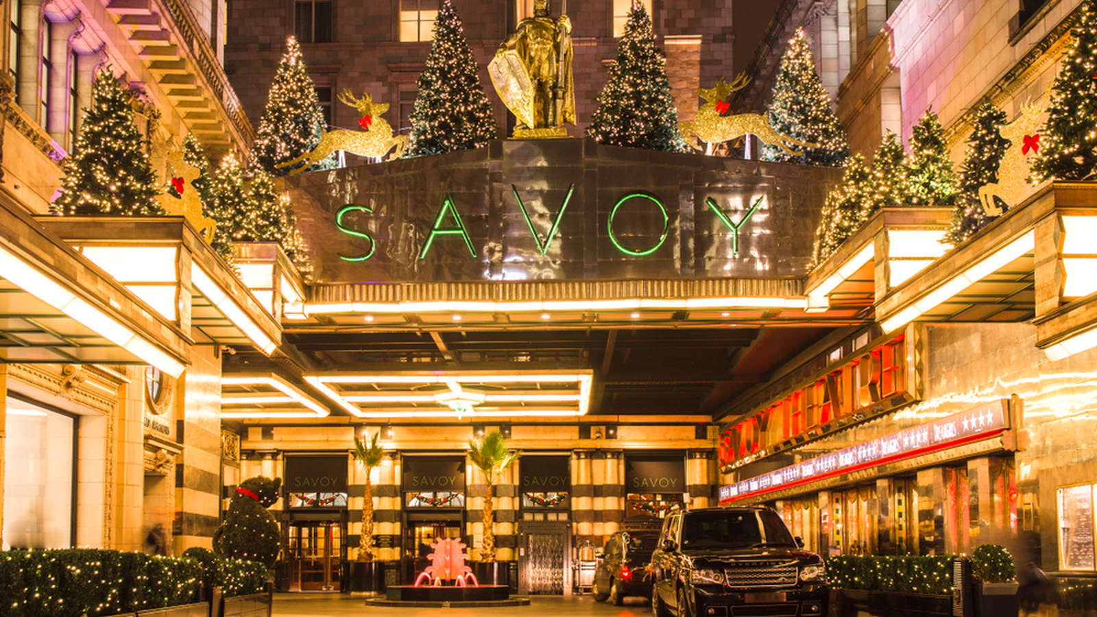 The Savoy Hotel - One of London's Most Prestigious Hotels