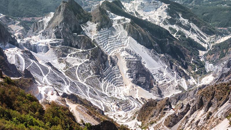 Carrara Marble Quarry Visit